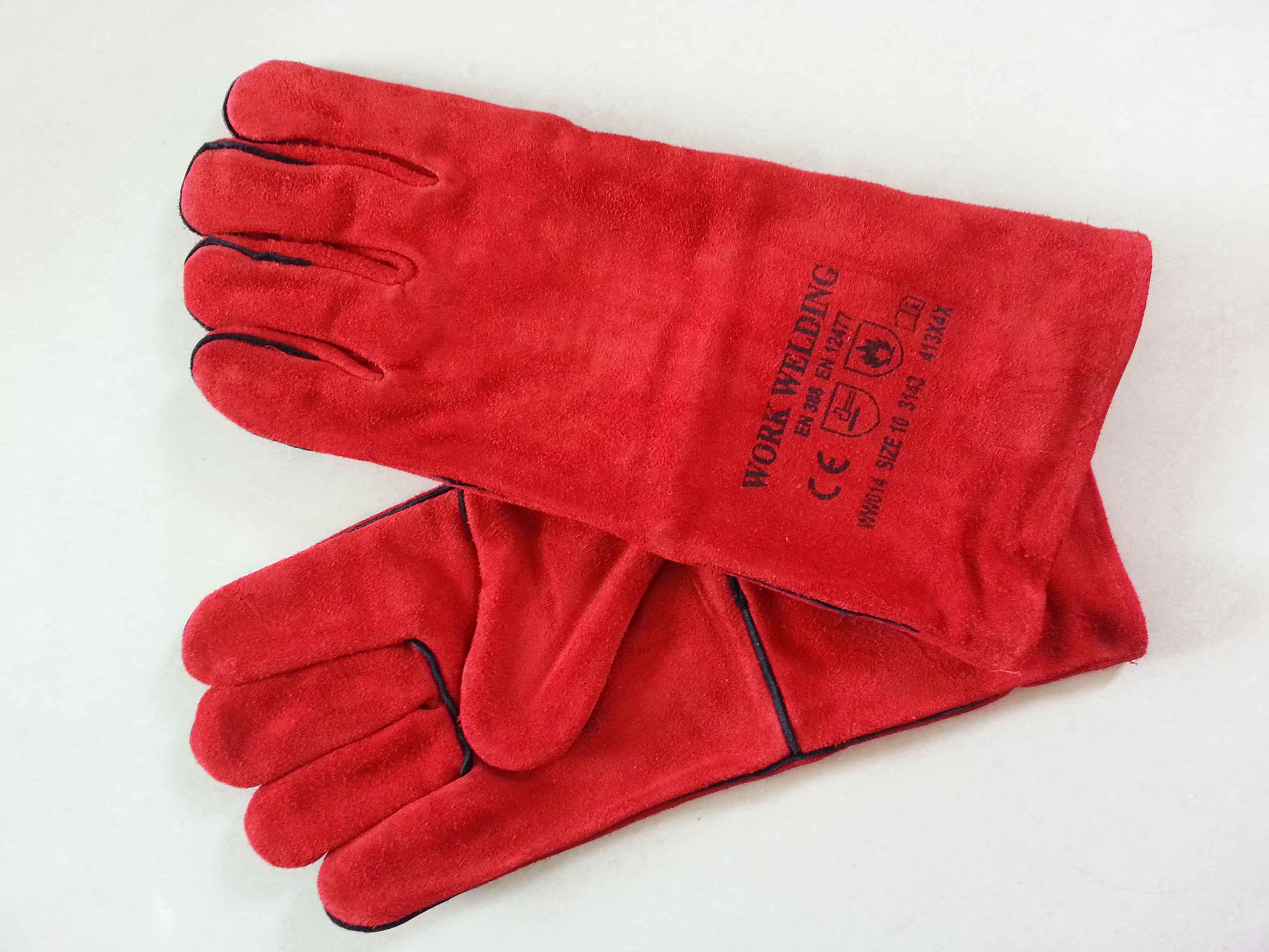 Găng tay da hàn WW014