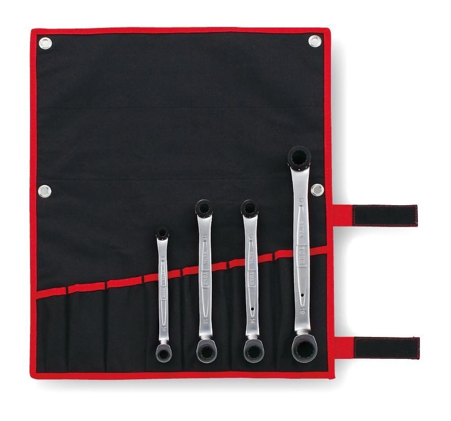 Bộ cờ lê 2 đầu tròng TONE RM75A400
