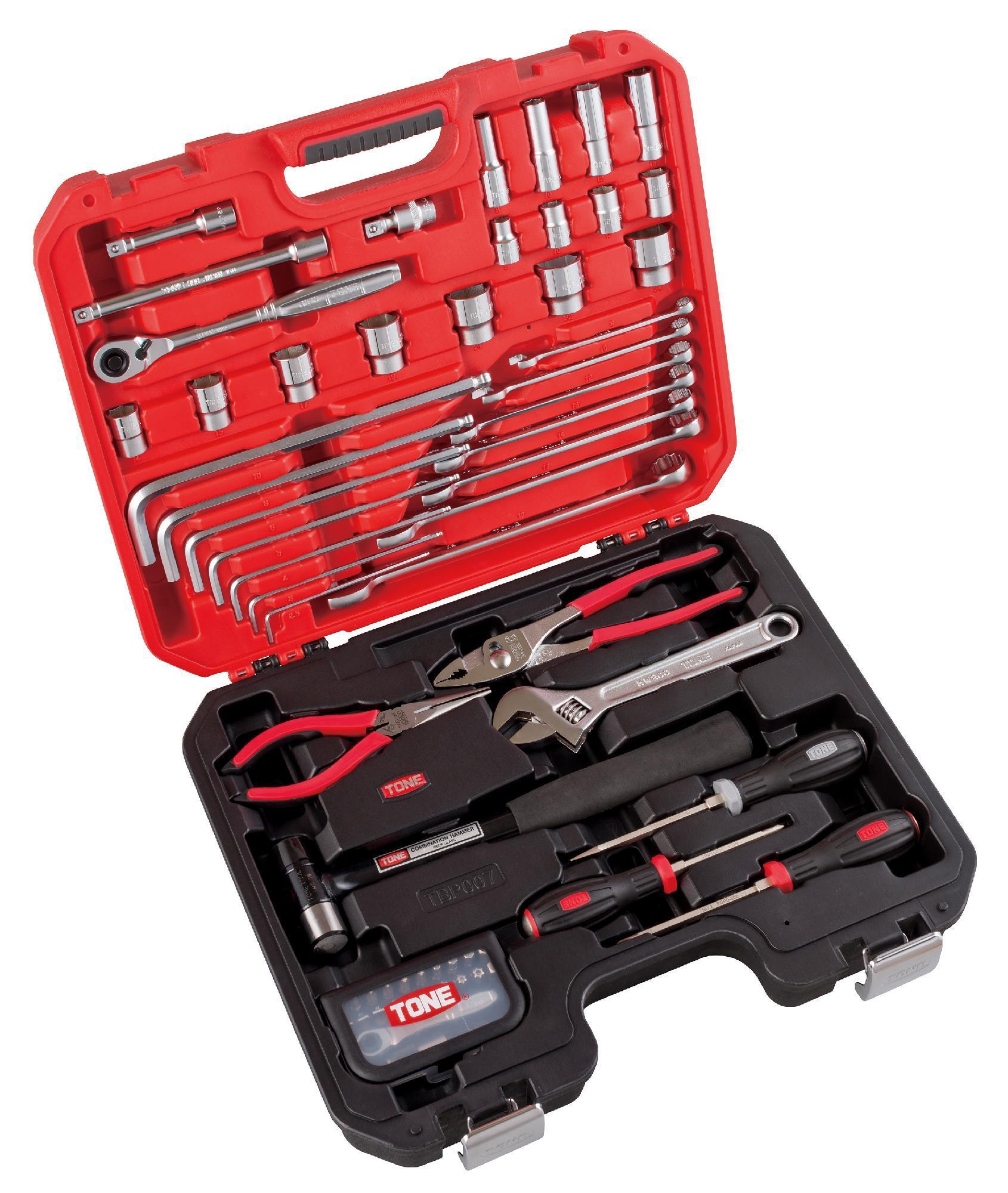 Cặp dụng cụ TONE 63 chi tiết K600