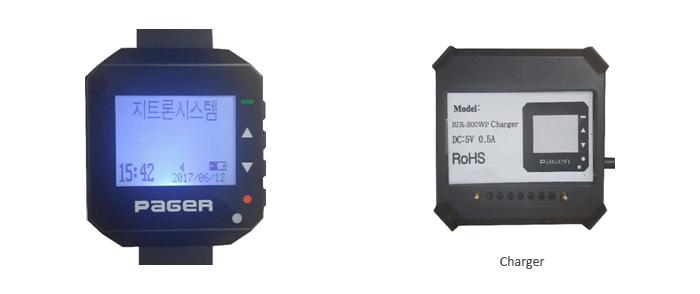 Máy nhắn tin đeo tay RFA-800WP